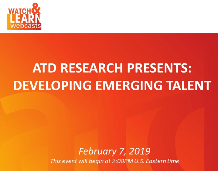 ATD Presents: Developing Emerging Talent